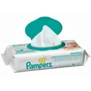 Pampers Влажные салфетки Sensitive 56 шт с клапаном