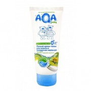 AQA baby Легкий крем-тальк для кожных складочек малыша 0+ мес 100 мл