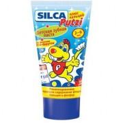 SILCA Putzi Зубная паста со вкусом тутти-фрутти + кальций с 2 до 6 лет 50 мл