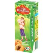 Сады Придонья Сок Яблоко-абрикос с мякотью с 5 мес 0,2 л