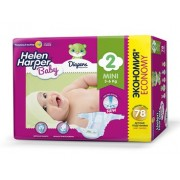 Helen Harper Baby Подгузники mini (3-6 кг) 78 шт