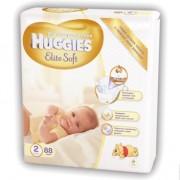 Подгузники Huggies Elite Soft 2 (4-7 кг) 88 шт
