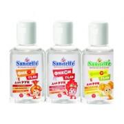 Sanitell Фиксигель антисептик для рук Cherry с витамином Е 50 мл