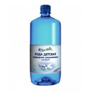 Детская природная родниковая вода Fleur Alpine ORGANIC с рождения 1 л