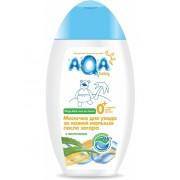 AQA baby Молочко для ухода за кожей малыша после загара с пантенолом 0+ мес 250 мл
