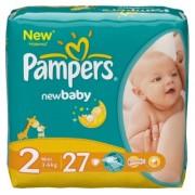 Pampers Подгузники New Baby 2 (3-6 кг) 27 шт