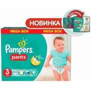 Pampers Pants Трусики 3 (6-11 кг) 120шт.
