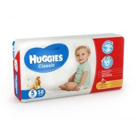 Подгузники Huggies Classic 5 (11-25 кг) 58 шт