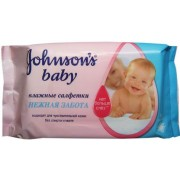 Влажные салфетки Johnsons baby