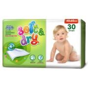 Helen Harper Детские одноразовые впитывающие пеленки Soft&Dry 60х40 см 30 шт