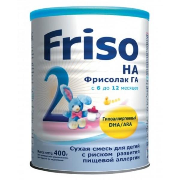 Frisolac Фрисолак Смесь гипоаллергенная 2 6-12 мес 400г