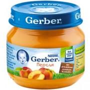 Gerber Персик с 4 мес. 80 г.