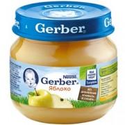 Gerber Яблоко с 4 мес. 80 г.