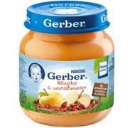 Gerber Яблоко с шиповником с 5 мес. 130 г.