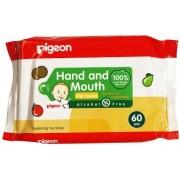 Pigeon Влажные салфетки для сосок, игрушек и фруктов 60 шт