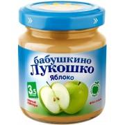 Бабушкино лукошко Пюре яблоко без сахара с 3,5 мес. 100г.