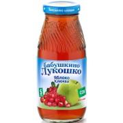 Бабушкино лукошко Сок Яблоко-Клюква осветленный с 6 мес 200 мл
