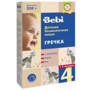 Bebi Каша б/м Гречневая с 4 мес. 250г.