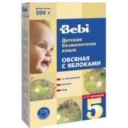 Bebi Каша б/м Овсяная с яблоком с 5 мес. 250г.