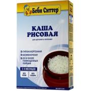 Беби Ситтер Каша б/м Рисовая гипоаллергенная безглютеновая с 4 мес 200г