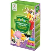 Heinz Лакомая каша молочная Гречневая - грушка, абрикос, смородинка с 5 мес 200г