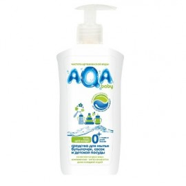 AQA BABY Средство для мытья бутылочек, сосок и детской посуды 500мл