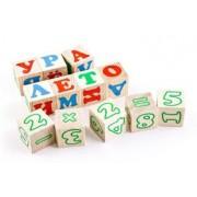 ТОМИК Кубики Алфавит с цифрами 20 шт