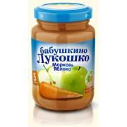 Бабушкино лукошко Пюре Морковь-Яблоко с 5 мес 200 г