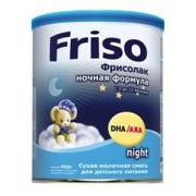 Frisolac Фрисолак Молочная смесь Ночная Формула 0-12 мес 400г
