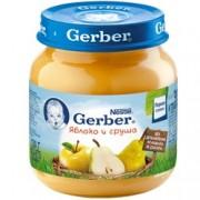 Gerber Пюре  Яблоко и груша с 5 мес. 130г.
