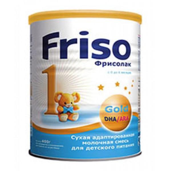 Frisolac Фрисолак Молочная смесь 1 Gold 0-6 мес 400г