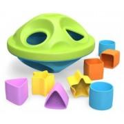 Green Toys Сортер Летающая тарелка 6+ мес