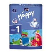 Happy Start Newborn 2-5 кг. 42 шт