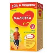Детское молочко Малютка-3 с 12 мес 700 г