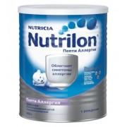 Nutrilon Нутрилон Пепти Аллергия с рождения 400г