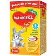 Молочная смесь Малютка-2 с 6 мес 700 г