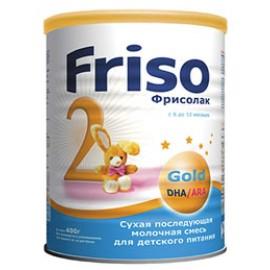 Frisolac Фрисолак Молочная смесь 2 Gold 6-12 мес 400г