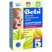 Bebi каша б/м кукурузная низкоаллергенная, обогащенная пребиотиками 200 гр, с 5 мес.