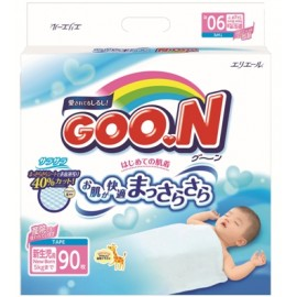 Японские подгузники  Goon NB (0-5 кг) 90 шт