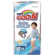 Японские трусики Goon для мальчиков XL (12-20 кг) 38 шт.