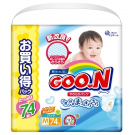Японские трусики GOON M (7-12кг) 74 шт Ultra Jumbo Pack