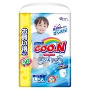 Японские трусики GOON для мальчиков L (9-14 кг) 56 шт Ultra Jumbo Pack