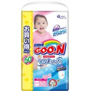 Японские трусики GOON для девочек XL (12-20кг) 50 шт Ultra Jumbo Pack