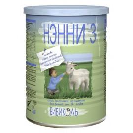 Молочный напиток Нэнни 3 на основе козьего молока с 12 месяцев 400г