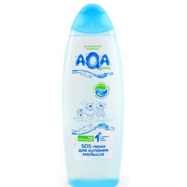 AQA baby Пена для купания противопростудная 500 мл