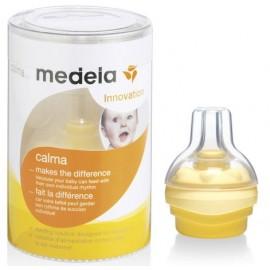 Medela  соска силиконовая Calma  для кормления детей из бутылочки
