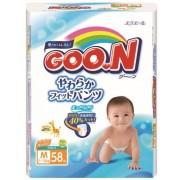 Японские трусики Goon М (7-12 кг) 58 шт