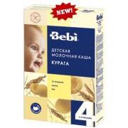 Bebi Каша молочная Рисовая с курагой с 4 мес. 250 г.
