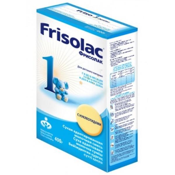 Frisolac Фрисолак Молочная смесь 1 0-6 мес 400г картонная коробка