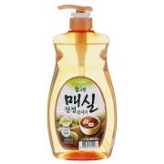 CJ Lion Средство для мытья посуды, овощей и фруктов Chamgreen Японский абрикос 960 мл c дозатором